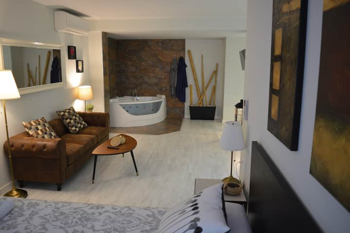 NEW LOFT IN RUZAFA WITH JACUZZI AND FIREPLACE