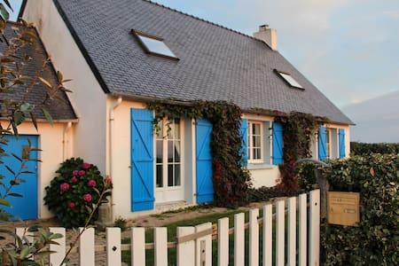 Charmante maison de pêcheur face à l'Océan