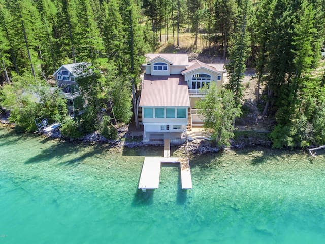 Beautiful home on Ashley Lake 14mi from kalispell