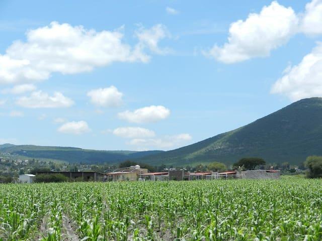 Granja Ecoturismo en Querétaro - Pie de Gallo - Bungalov