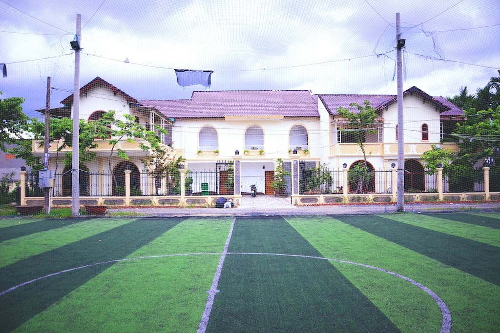 The Yellow Garden Villa