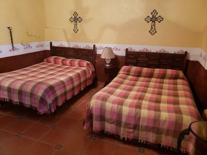 Habitación Acocote en Hacienda San Buenaventura