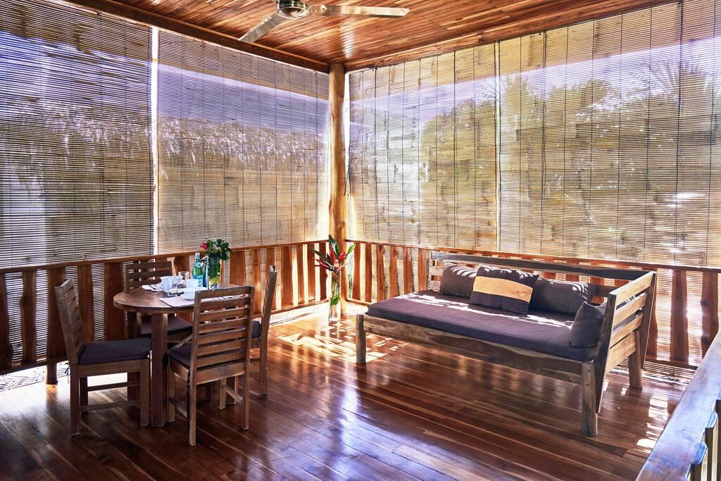 big terrace living room