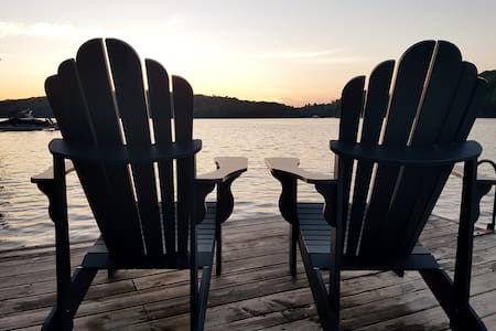Newly updated 4-season cottage on Lake Vernon!