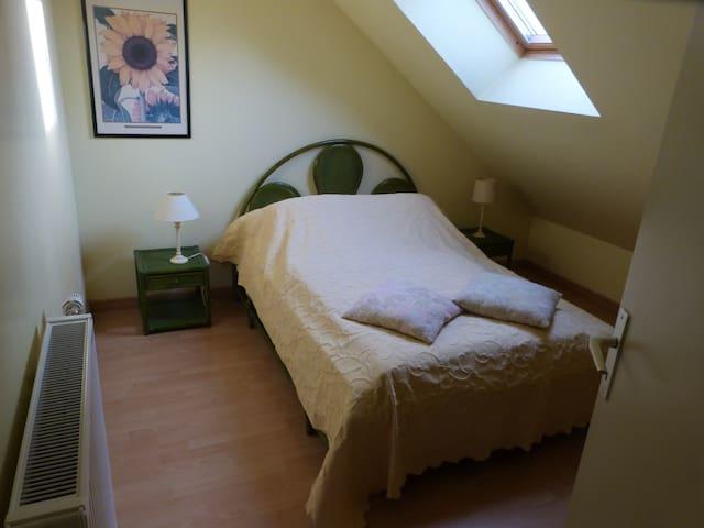Chambre double n°3 (1er étage)