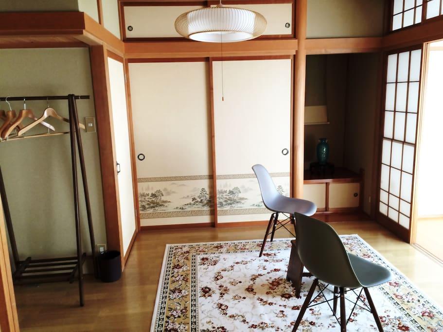個室 和洋室5.5畳 Your private:Wood flooring room