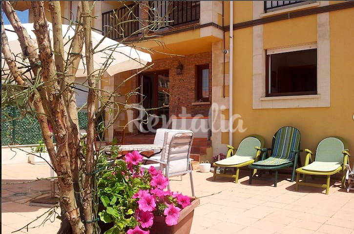 Lovely apartament next to Comillas - Ruilobuca - Lakás