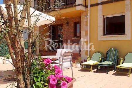 Apartamento con gran terraza privada en Comillas - Ruilobuca - Apartament