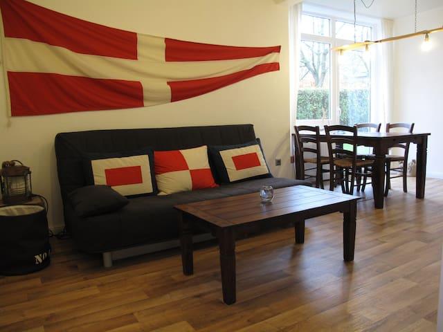 Maritimes Apartment im Landhaus Scharbeutz/Ostsee - Scharbeutz - Huoneisto