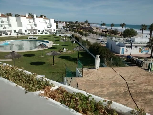 Hab. Doble con vistas a la playa - Chiclana de la Frontera - Appartement