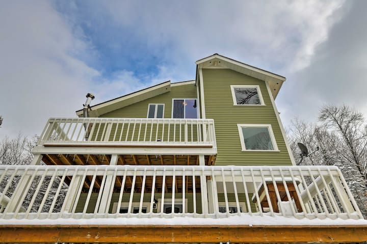 NEW! Private 2BR Bethlehem Home with Natural Views