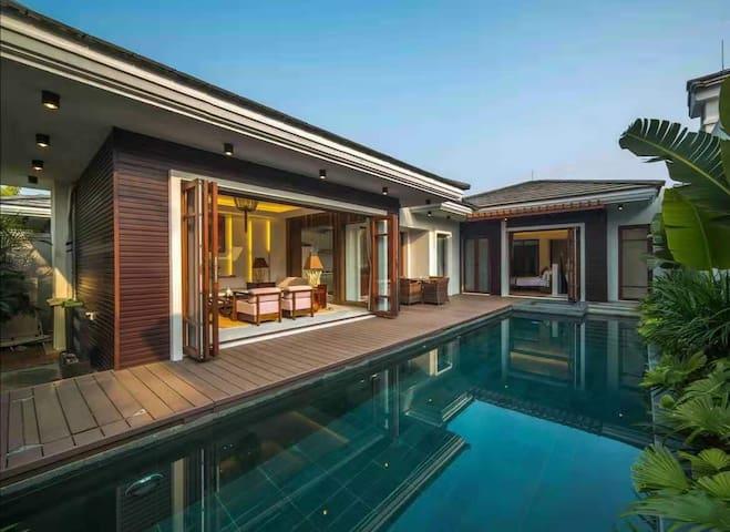 【泳池、泡池】惠东欢墅度假两居别墅