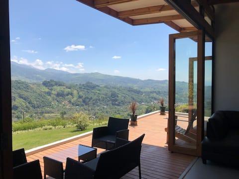 Casa Tirrá un lugar con la mejor vista al Chirripó
