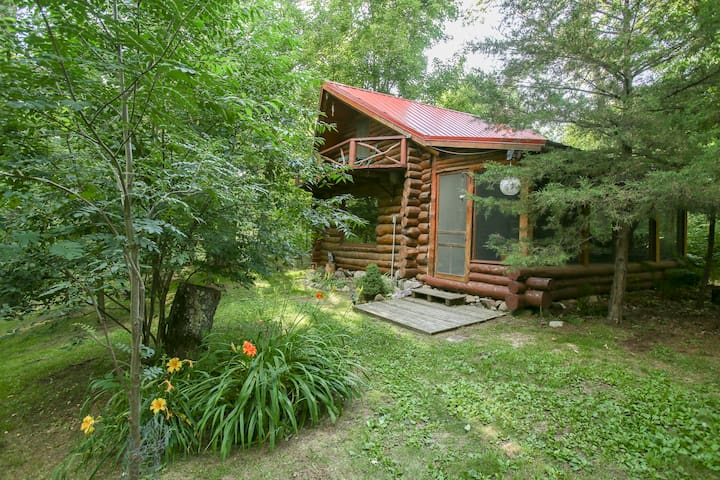 Log Cabin (available only w Trade River Retreat)