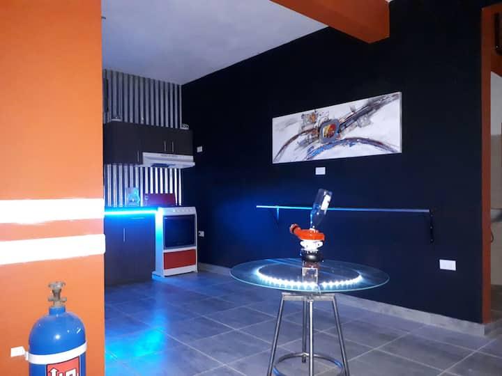 Hacienda Bandido,Racing apartment