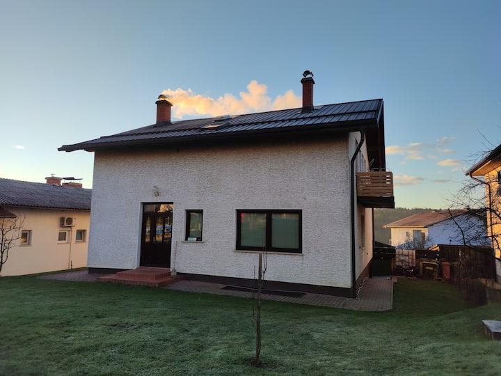Jüršovka app. A roomy place in a family house.