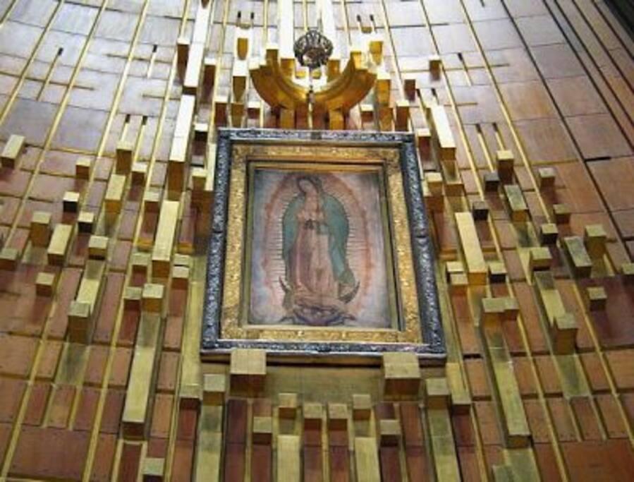 Caminado puedes llegar a la Basílica de Guadalupe