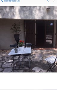 T1 meublé rez de villa Bandol - Bandol - Casa