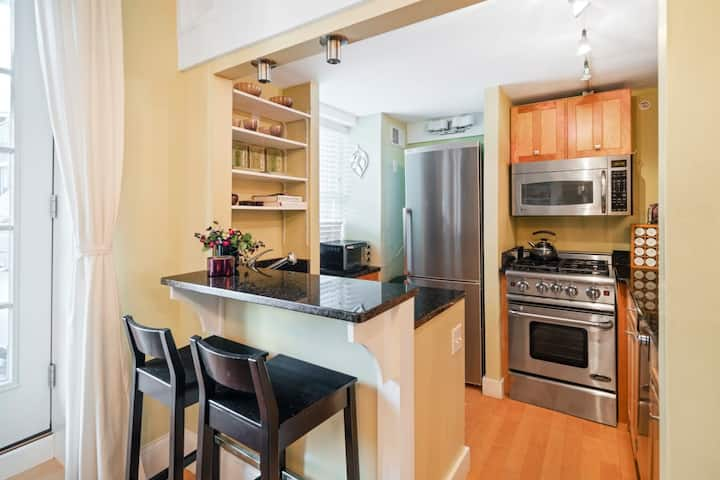 New Listing Discounts! 1+ Bedroom, PRIME South End Location, Deck/Grill!