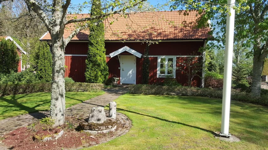 Large cottage set in beautiful garden in Sweden