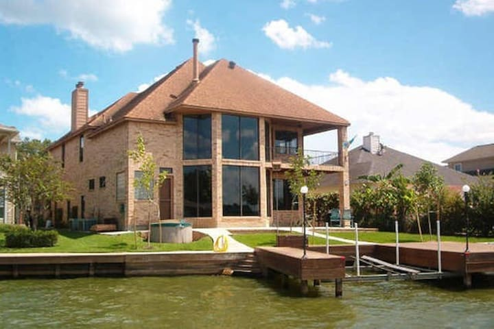 Private Room in Waterfront House - Lake Conroe - Montgomery - Haus