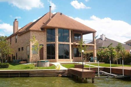 Private Room in Waterfront House - Lake Conroe - Монтгомери - Дом