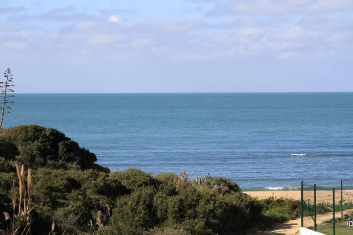 Ocean views. Beach front house - Conil de la Frontera - Rekkehus