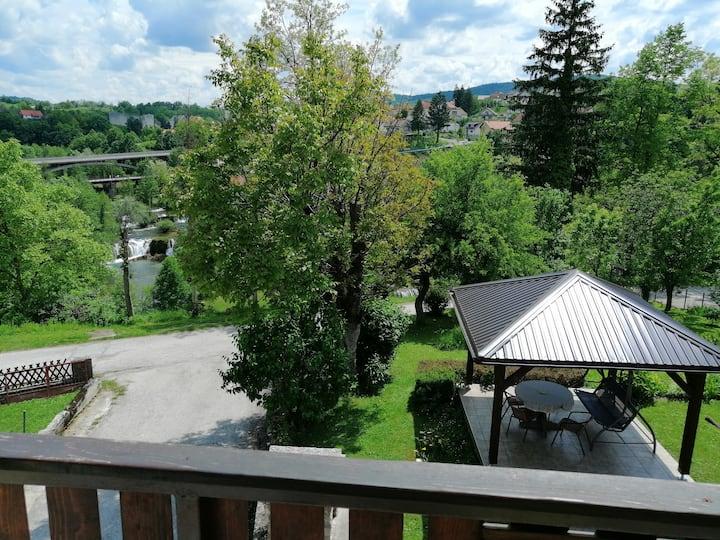 Apartment BUK Rastoke near Plitvice Lakes
