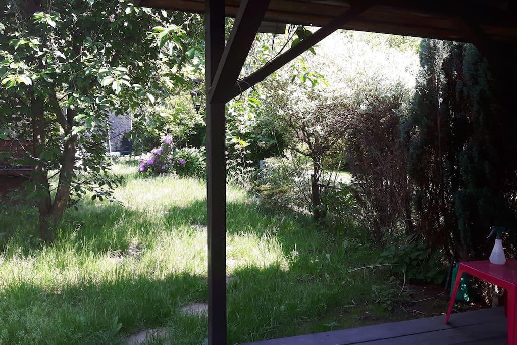 Altanka w ogrodzie