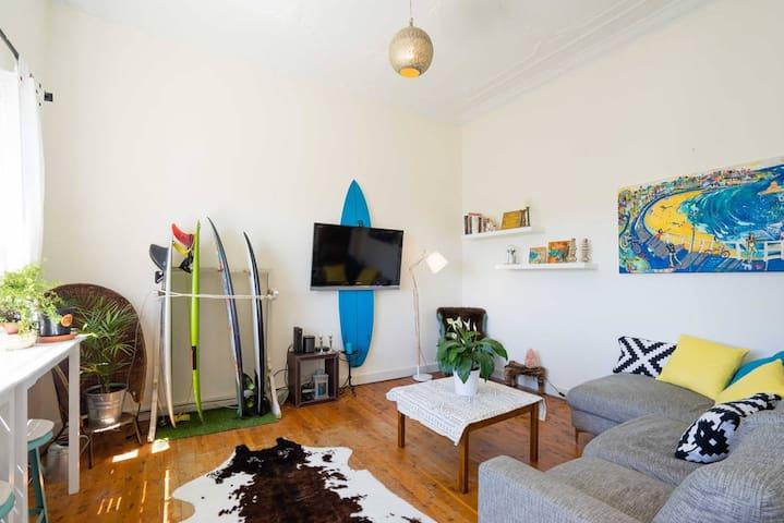 Bondi Surf Shack - own room - Bondi Beach - Huoneisto
