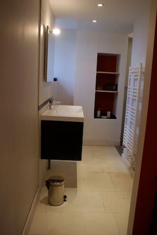 Cabinet de toilette séparatif