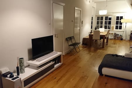 Loft in Amsterdam West, 3 minutes from Vondelpark - Amsterdam