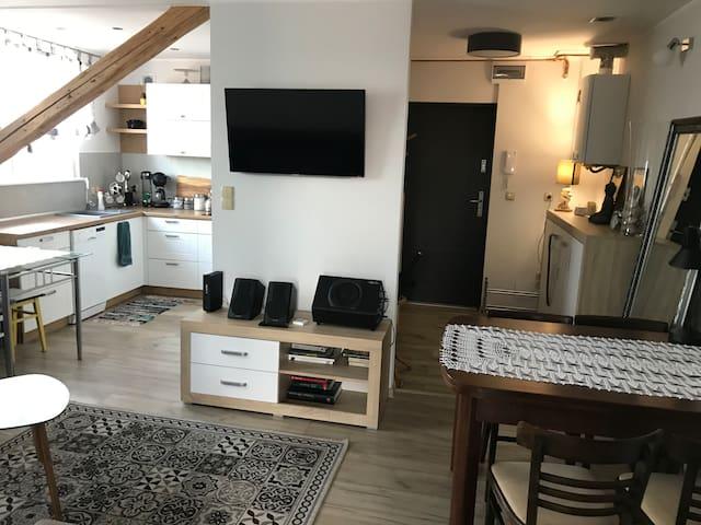 Klimatyzowany/Air condi Apartament przy Ekomarinie