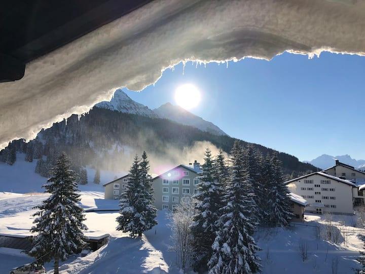 Mountain View Appartment in Valbella/Lenzerheide