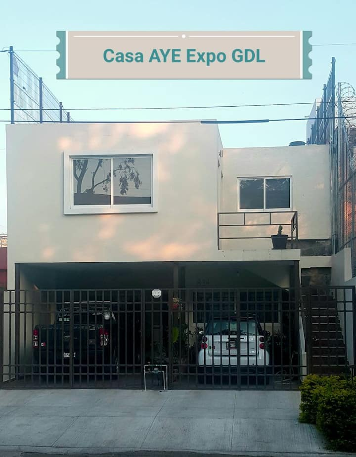 Casa AYE Chapalita Expo Guadalajara café gratis