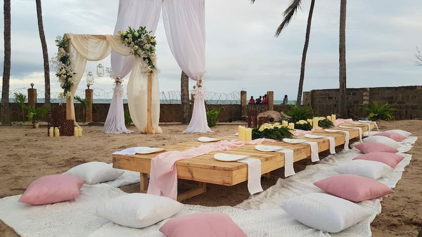 Beach Wedding Grounds in Mombasa
