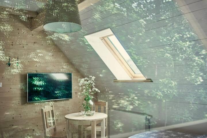Pokój nr 3 w domu gościnnym Słona Woda