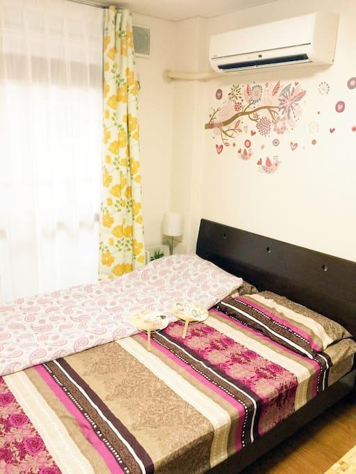 広くて、きれいな2DKの部屋(干净.整洁.卫生的2房1厅新开民宿)