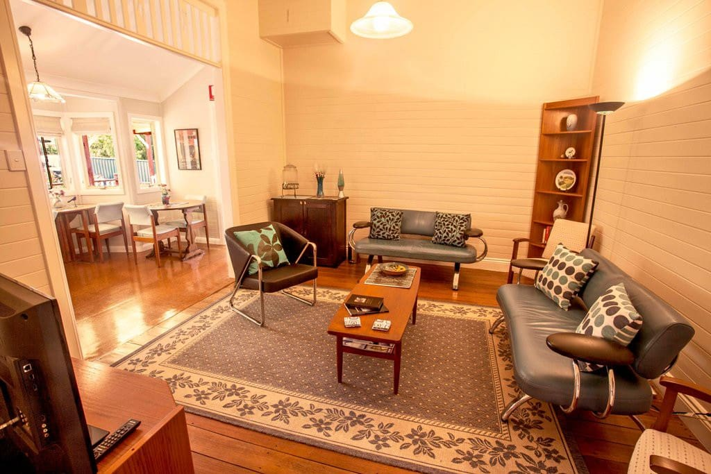 Shared guest living space