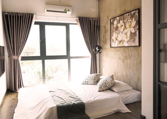 Thao Dien Phong's House, Garden View(30m2 - 3F)