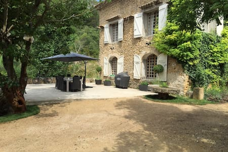 17th Century Mill House, Provence - Uchaux - Maison