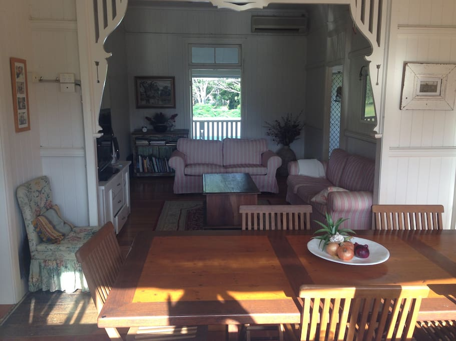 Dining and lounge room - upstairs