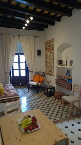 "Two room apartment with patio in ""Casa San Juan"""