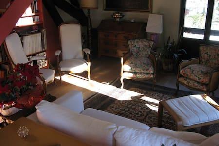 Ample appartement dans chalet - Chamonix - Lägenhet