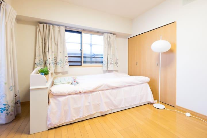 3mins to Asakusa Temple 65㎡cozy apartment 2bedroom - Taitō-ku - Wohnung