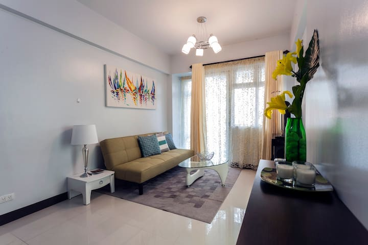 1BR nr Airport/Resorts World Manila - Pasay City - Huoneisto