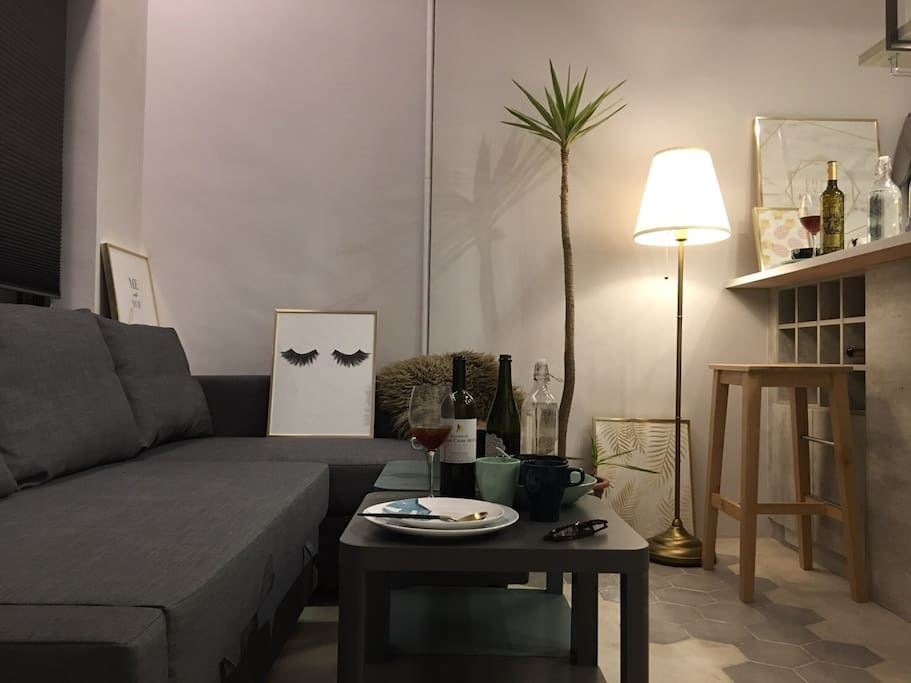 1F Living Room sofa area/一樓客廳 沙發區