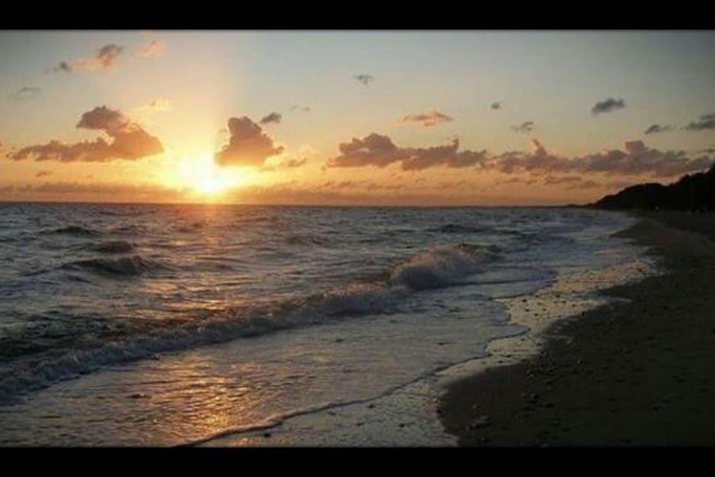 der traumhafte Strand