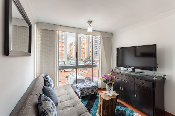 Hermoso y acogedor apartamento super ubicación 201