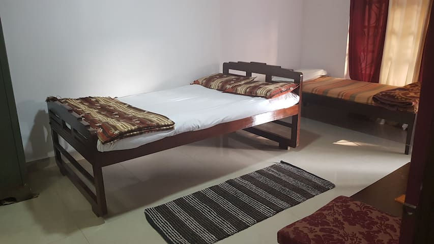 Budget room (Non AC) with private Terrace, Ponda